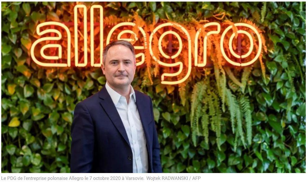 VALIANS - Allegro, «l'Amazon polonais», fait son entrée en bourse