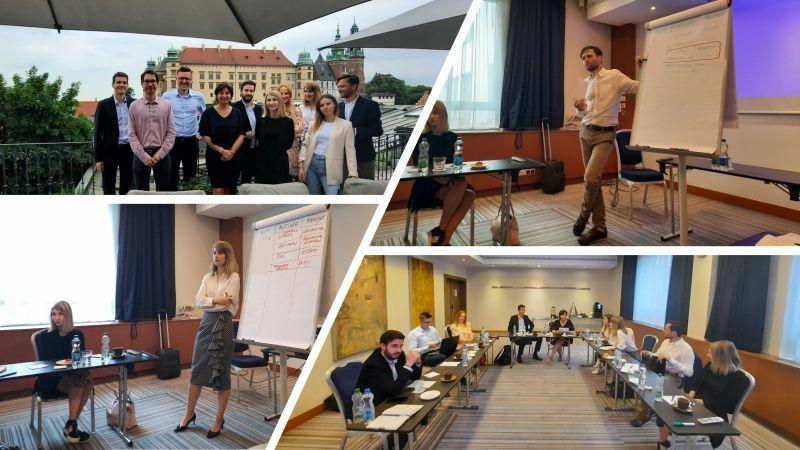 VALIANS - L'équipe Valians réunit à Cracovie – juin 2021