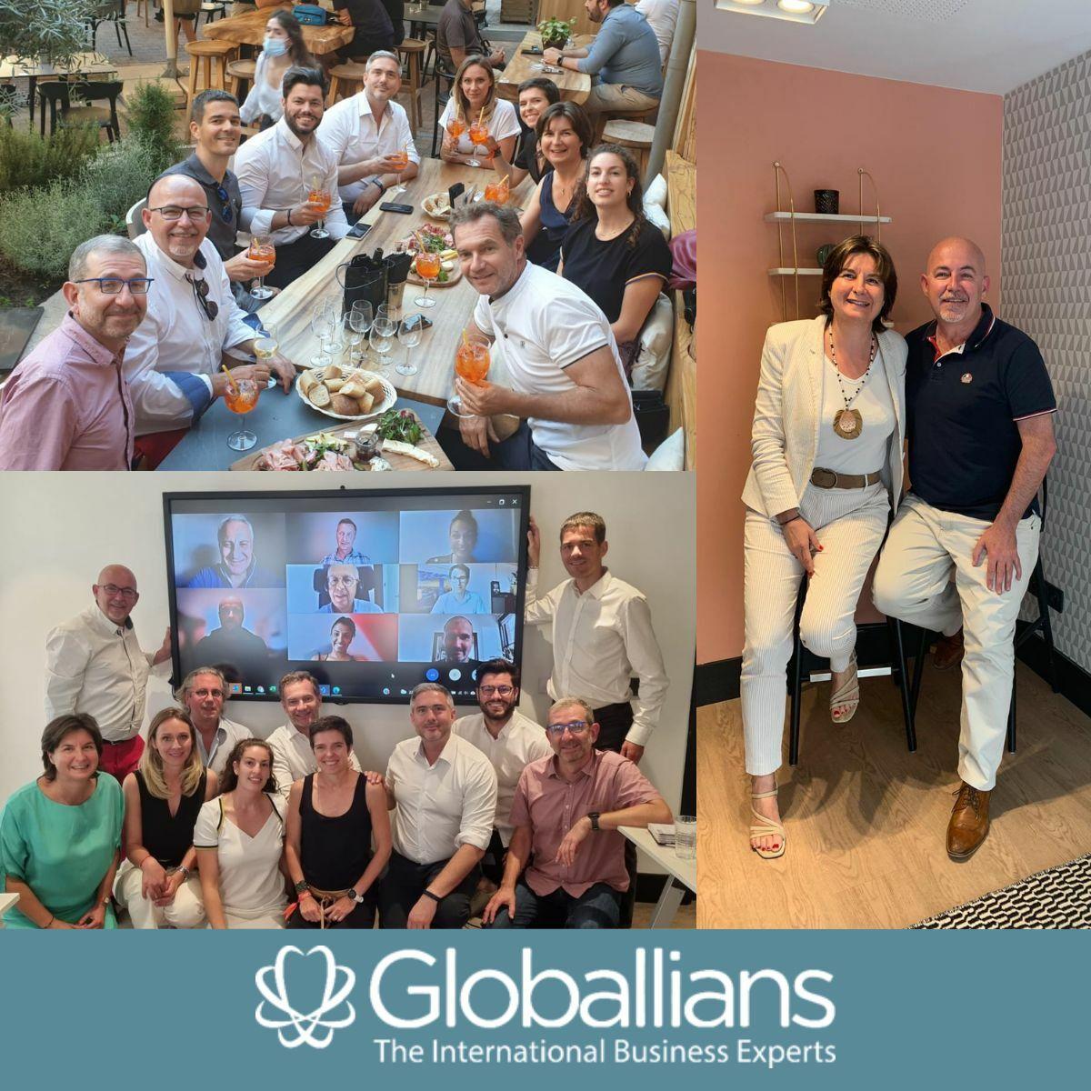 VALIANS - Maryline Bertheau-Sobczyk élue à la co-présidence de Globallians
